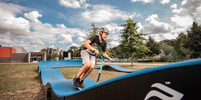 Pumptrack 'Urban Pumper' in Beernem, Sportpark Drogenbrood