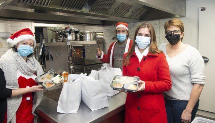 Kerstmaaltijden voor kwetsbare gezinnen in Beernem