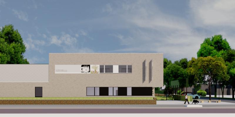 Plannen Nieuwbouw Basisschool De Drie Beertjes Parkstraat Beernem